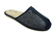 Kapcie filcowe i obuwie tekstylne męskie